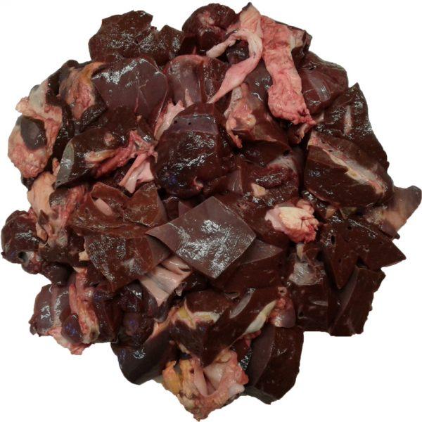 Обрізки яловичої печінки